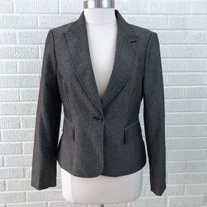 The Limited Collection Sz M Blazer Jacket Brown